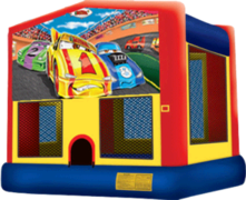 Racing Cars Bouncer