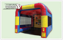 Speed Pitch -Inflatable-33- Baseball back drop