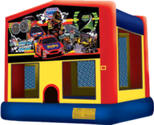 Stock Car Racing Bouncer