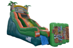 Tiki Island Slide slide wet or Dry no.46  Sept 2019 Events only