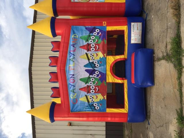 Crayon Castle Bounce House