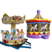 Magical Merry Go Round Bundle 2 hour Rental w/ attendant