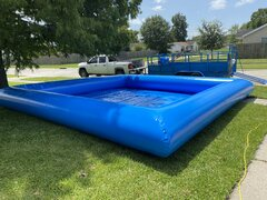 Large Square Pool Rental