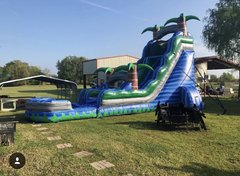 24ft Blue Crush Slide w/pool