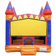Red Marble Castle Bounce House