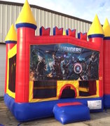 Avengers Castle Bounce House