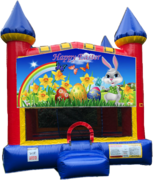 Easter Castle Bounce House