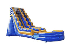 22ft Fire and Ice Slide w/pool