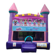 Lol Dolls Pink Castle Bouncer