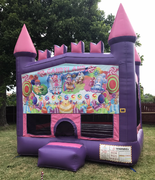 Candy land Pink Castle Bouncer