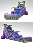 #24ft Purple Crush Slide w/pool
