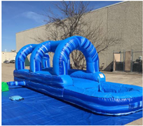 30ft Long slip n dip w/pool