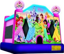 Disney Princess Full Theme bounce house