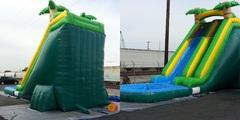 24ft Dry Tropical Oasis Slide