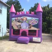 Sofia The First Pink Castle Bouncer