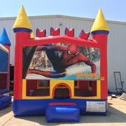 Spiderman Castle Bounce House