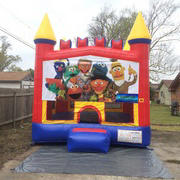 Sesame Street Castle Bounce House