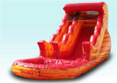 18 ft Volcano Water Slide