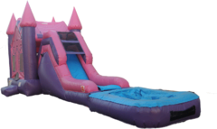 4 in 1 Wet Pink Princess Castle
