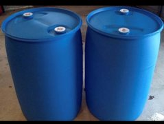 55 Gallon Water Plastic Drums