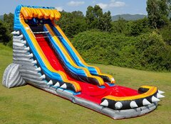 22 Ft Rocker Water Slide Coming Soon