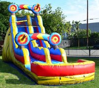 20 Ft Target Water Slide Coming Soon