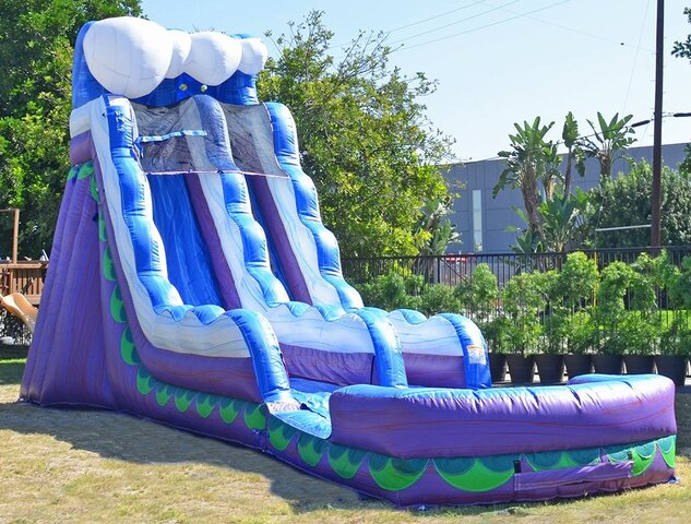 19 Ft Wavy Water Slide Coming Soon