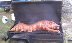 5' Charcoal Pig Roaster