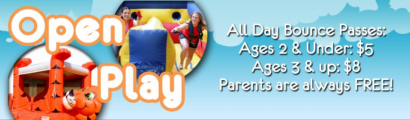 9900 Sq Feet Of Fun With EIGHT HUGE Inflatables