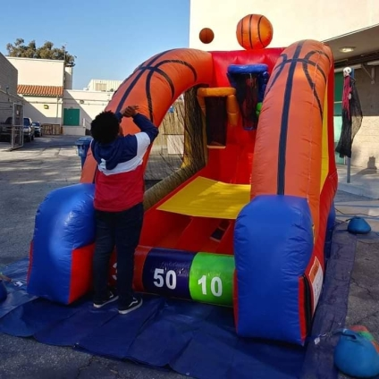 Inflatables Interative Games Rental Los Angeles