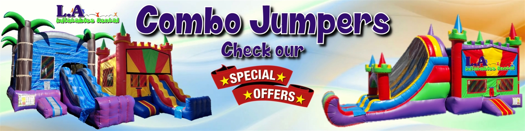 Jumper Bounce House With Slide Rentals Los Angeles