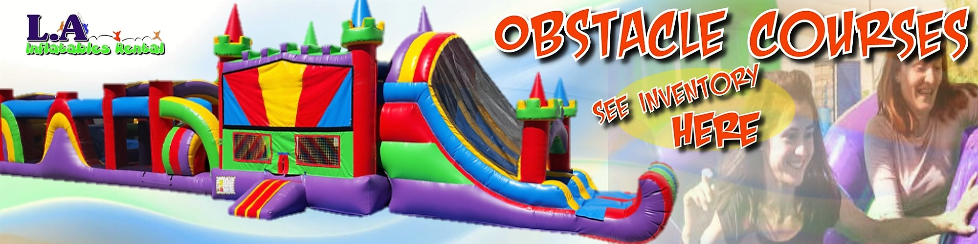 Obstacle Course Rentals Los Angeles