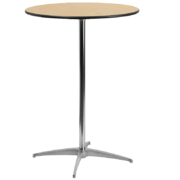 30 Round Cocktail Table 42 tall
