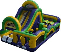 Rush Inflatable Obstacle Course Rush4