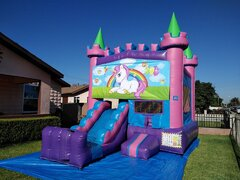 Unicorn Combo Jumper with Slide 4 in 1 C312