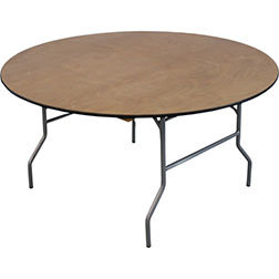 b) 60inch Round Tables (Seats 8)