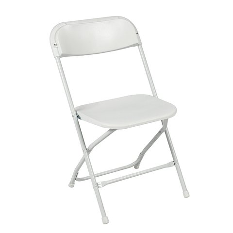a) White Chairs (No Pad)