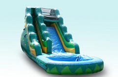 17ft Tropical Water Slide