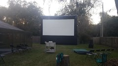 20X24 Movie Screen