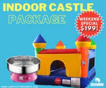 Winter HOT DEAL: Indoor Castle only $149/Day