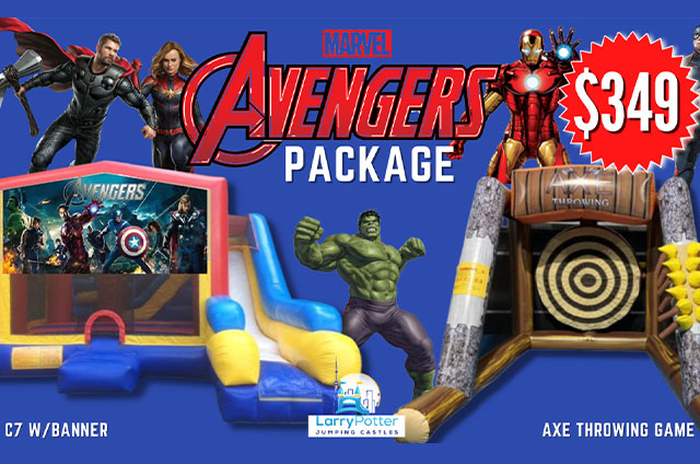 Avengers Party Package