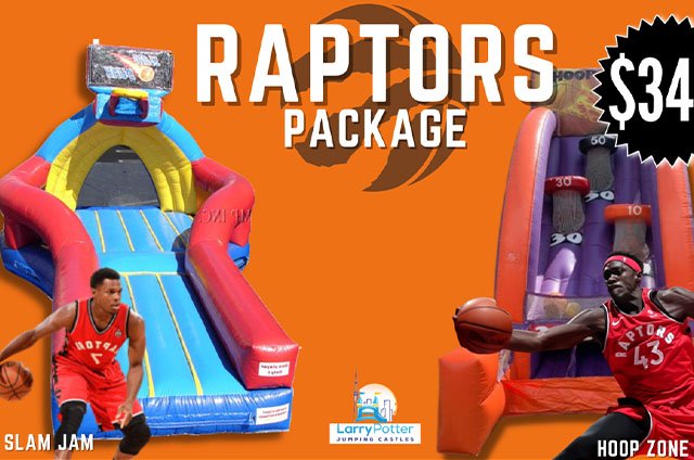 Raptor Party Package