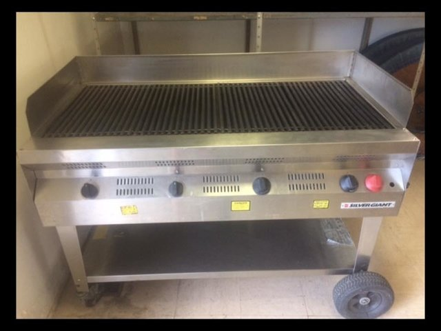 4' Commercial BBQ