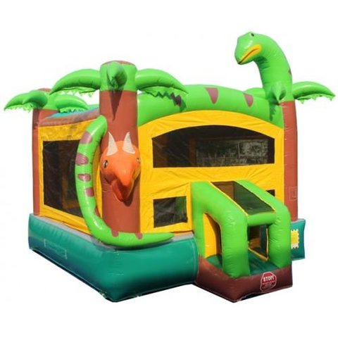 Deluxe Castle Rex Bounce House