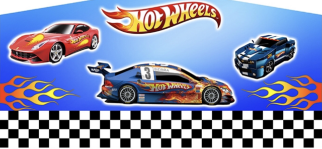 Hot Wheels Banner