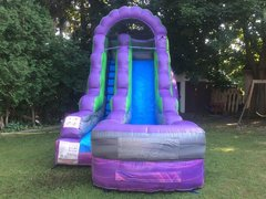 15ft Marble Wet Slide