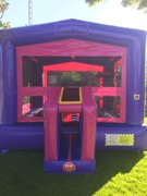 Deluxe Purple Modular Bounce House (Winter Castle available Nov-March)