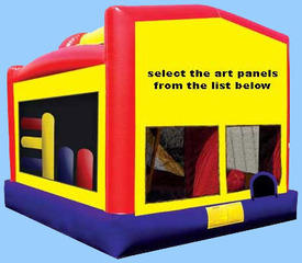 4-in-1 Combo Bounce House
