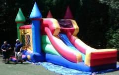WET -Castle Combo with slide.