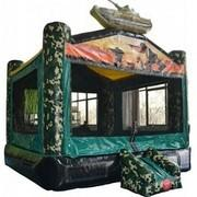 Camo Bounce House DRY Pickup Spacial